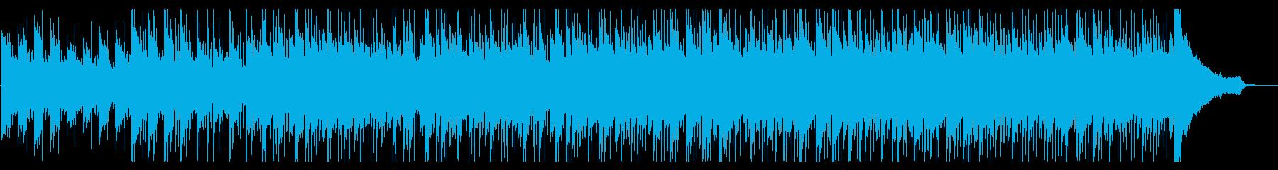 宇宙を感じるおしゃれなピアノの再生済みの波形