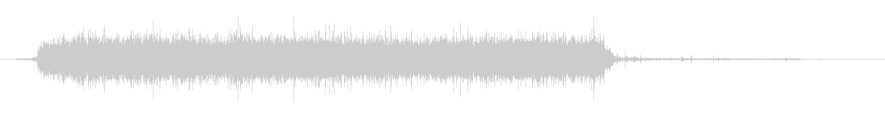 水 タップフローウルトラハードロング01の未再生の波形