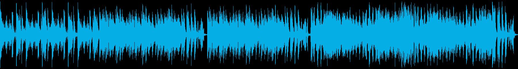 コミカル/静かめループ仕様の再生済みの波形