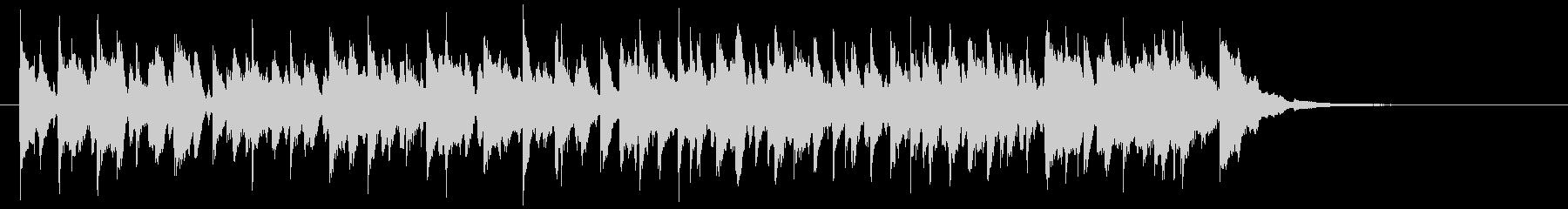 CM用13/ショート、陽気なキッズ向けの未再生の波形