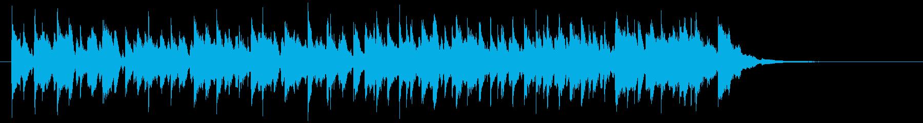 CM用13/ショート、陽気なキッズ向けの再生済みの波形