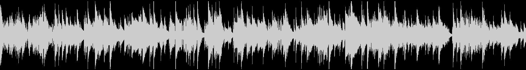 ジャズ、ラブシーン、サックス ※ループ版の未再生の波形