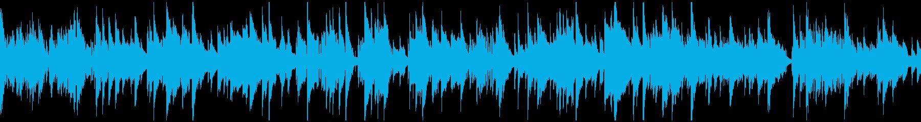 ジャズ、ラブシーン、サックス ※ループ版の再生済みの波形