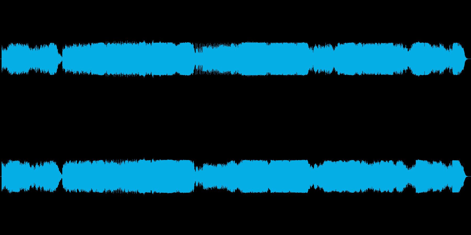 オーケストラ 爆発 ドカーンの再生済みの波形