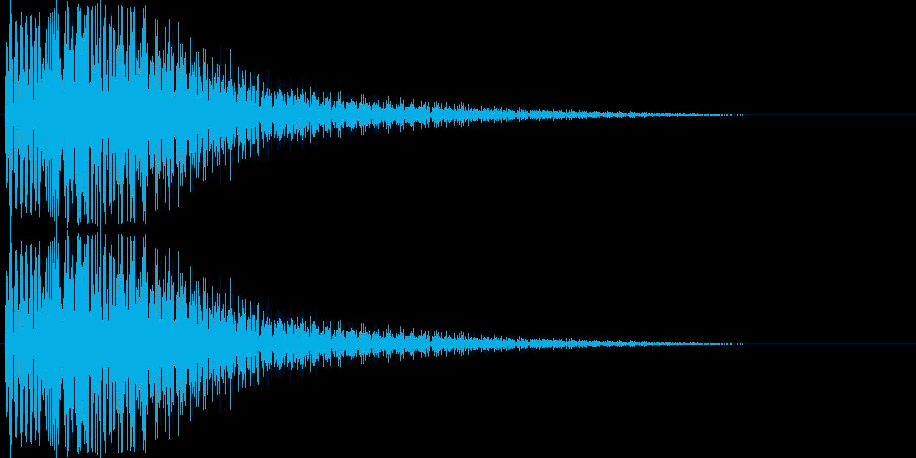 ワープ系の再生済みの波形