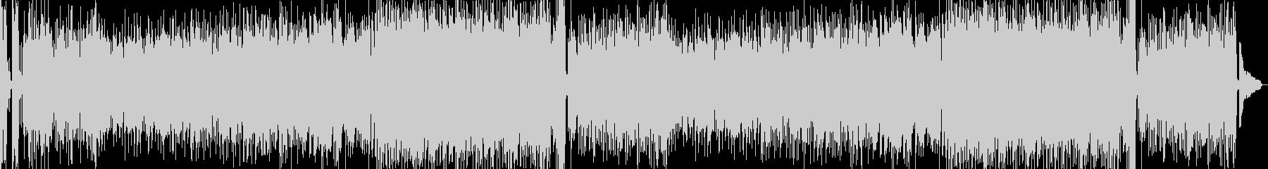 明るく軽快なバイオリンポップスの未再生の波形