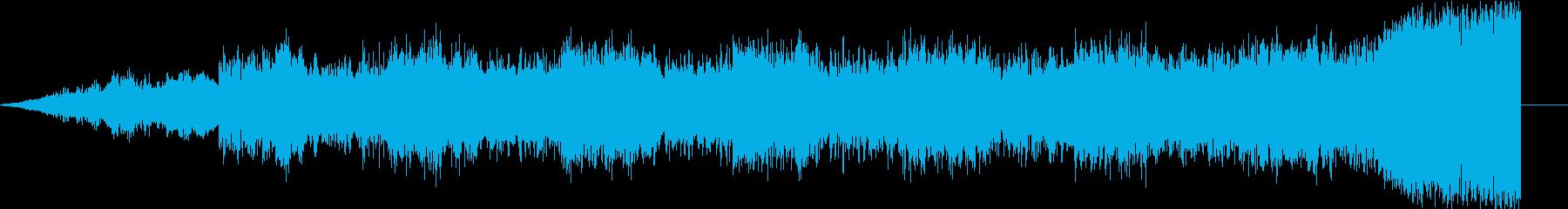 嬉声の再生済みの波形