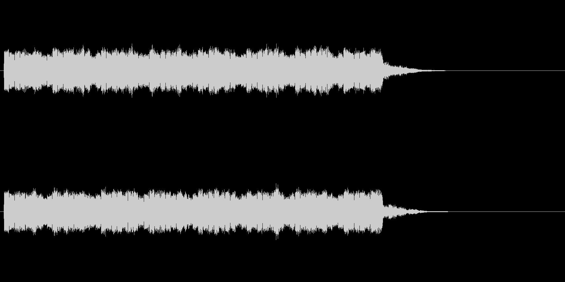 トコテントコテントコテンの未再生の波形