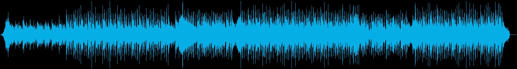 企業VP会社紹介に 落ち着いた清潔な音楽の再生済みの波形