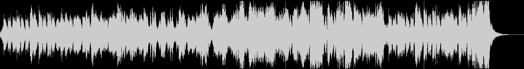 管弦楽による行進曲の未再生の波形