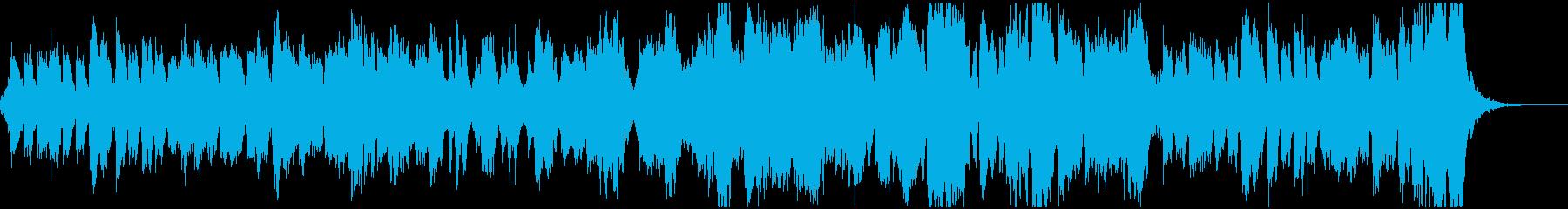 管弦楽による行進曲の再生済みの波形