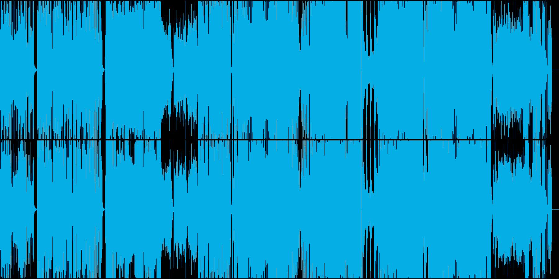 アンビエント系、英語詩女性ボーカルソングの再生済みの波形
