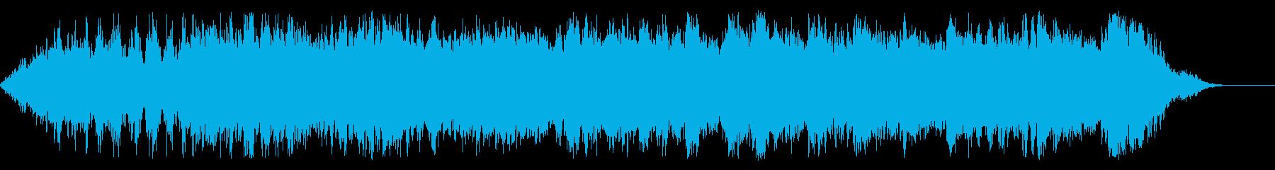RPGの戦闘系オーケストラの再生済みの波形