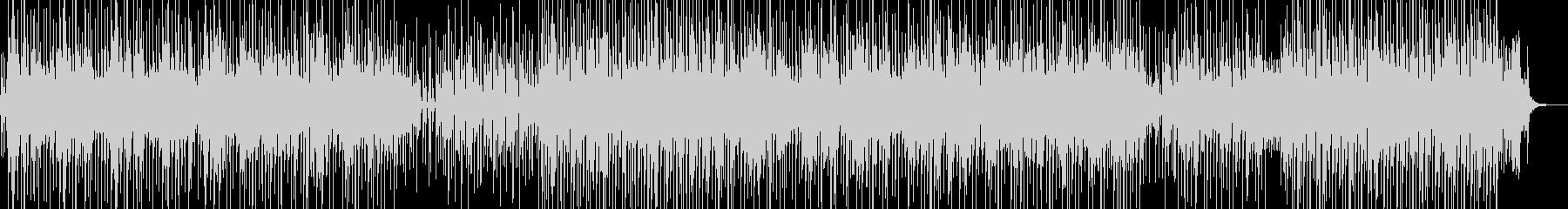 バカンスの雰囲気をイメージしたレゲェ Aの未再生の波形