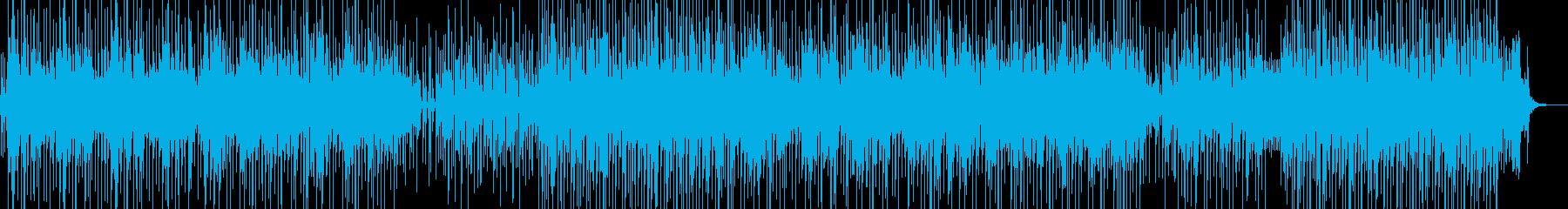 バカンスの雰囲気をイメージしたレゲェ Aの再生済みの波形