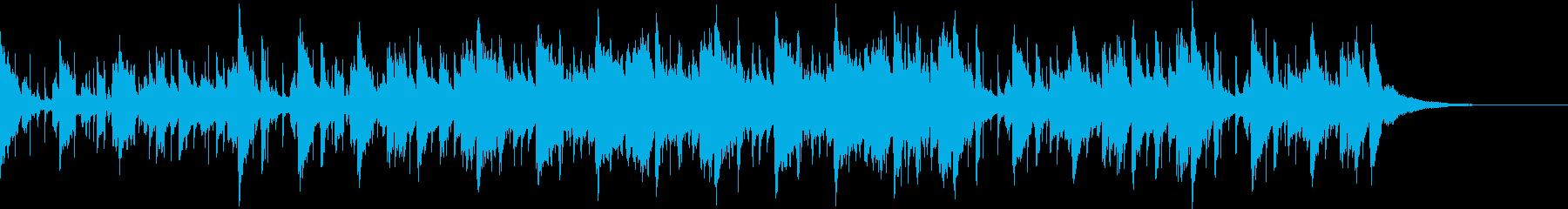 Pf「密」和風現代ジャズの再生済みの波形