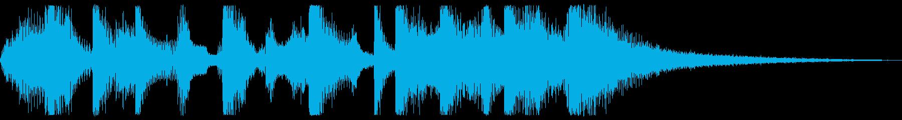 ポップロック研究所ファンキーバウン...の再生済みの波形