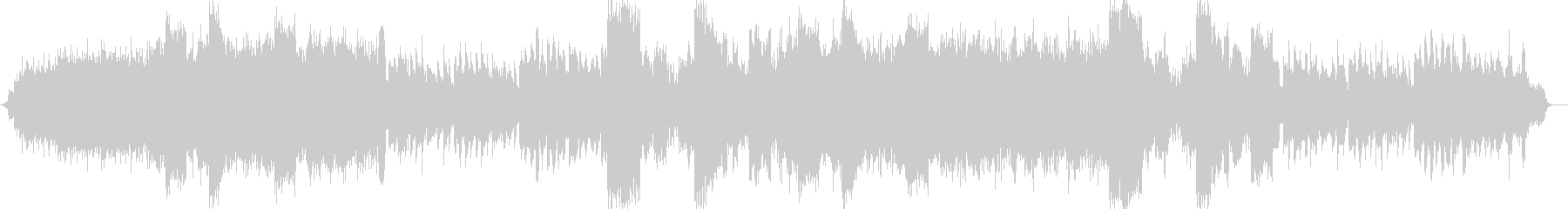 ドラマチックなシンセサイザー和風ポップスの未再生の波形