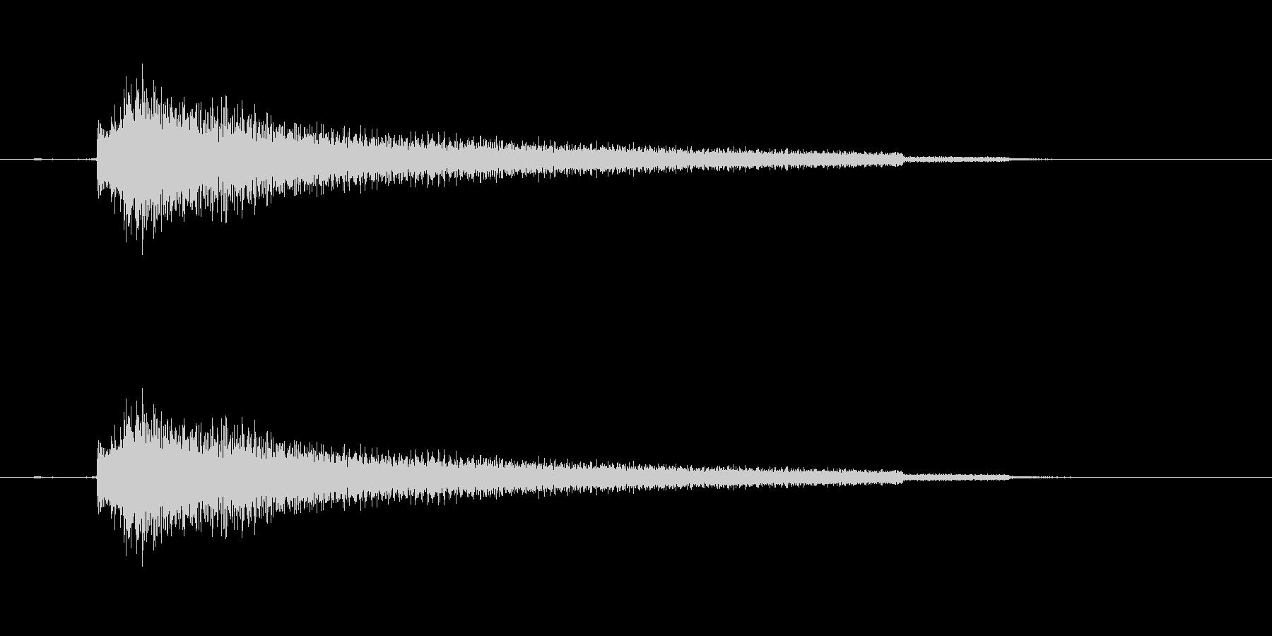 エレキギター(ロマンチック効果音)の未再生の波形