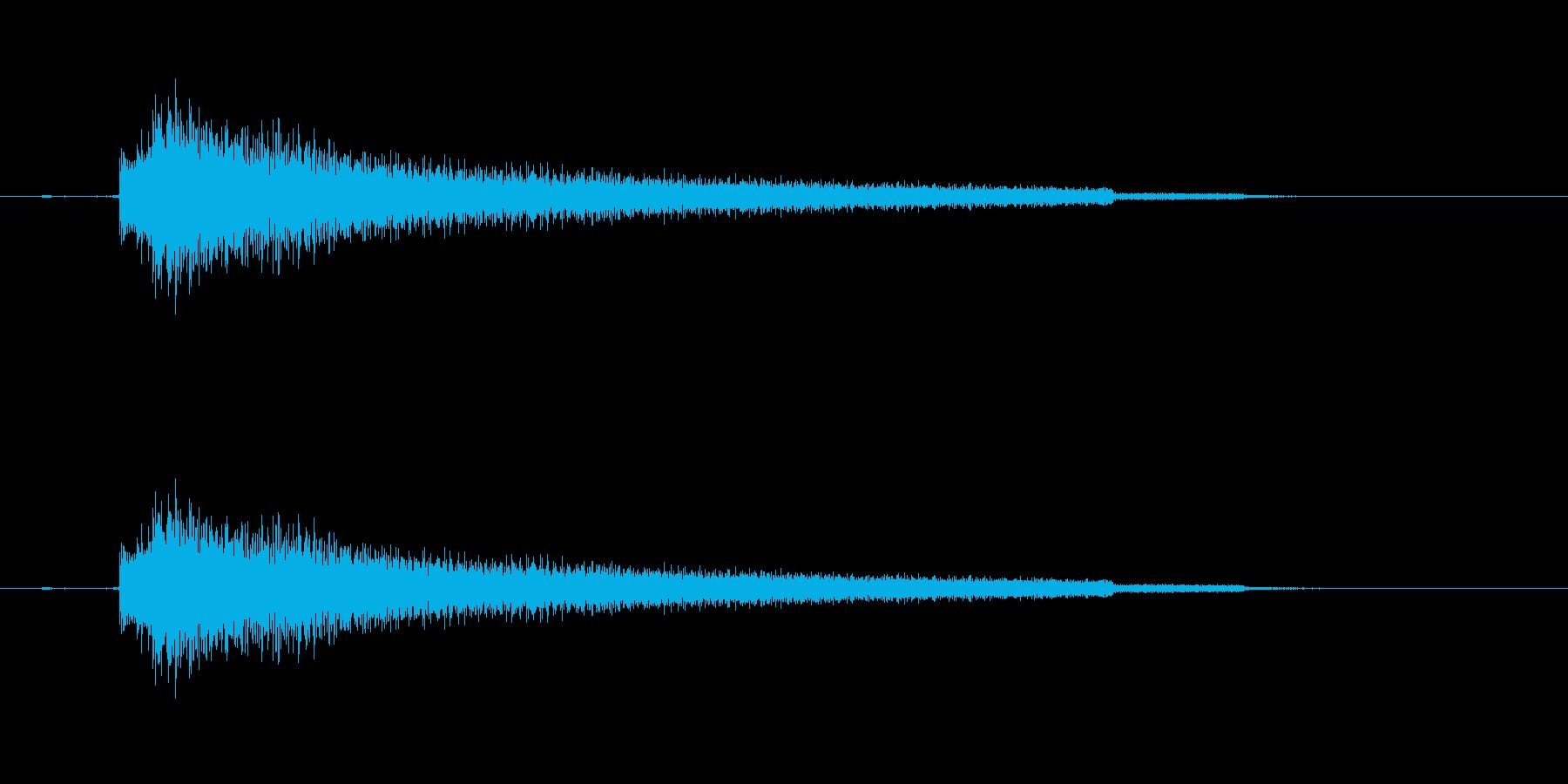 エレキギター(ロマンチック効果音)の再生済みの波形