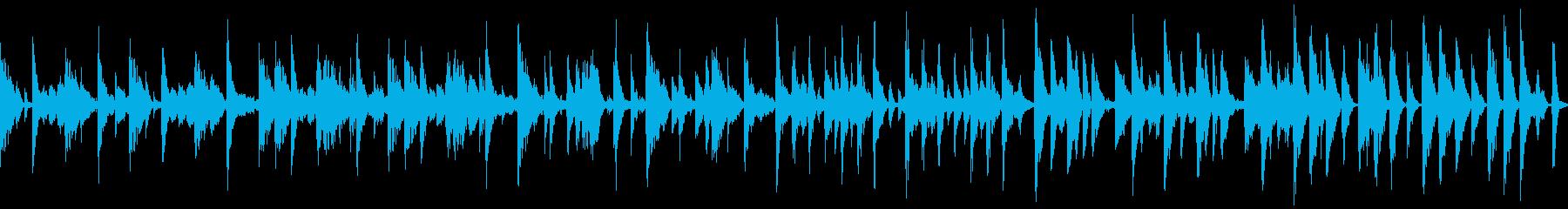 ヒップホップ風のギターの曲です。の再生済みの波形