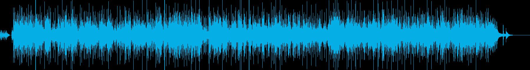 ポップなバンドサウンドのバースデーソングの再生済みの波形