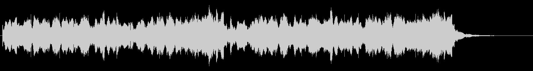 ビブラフォンが印象的な優しいジングル2の未再生の波形