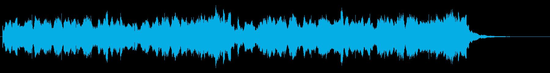 ビブラフォンが印象的な優しいジングル2の再生済みの波形