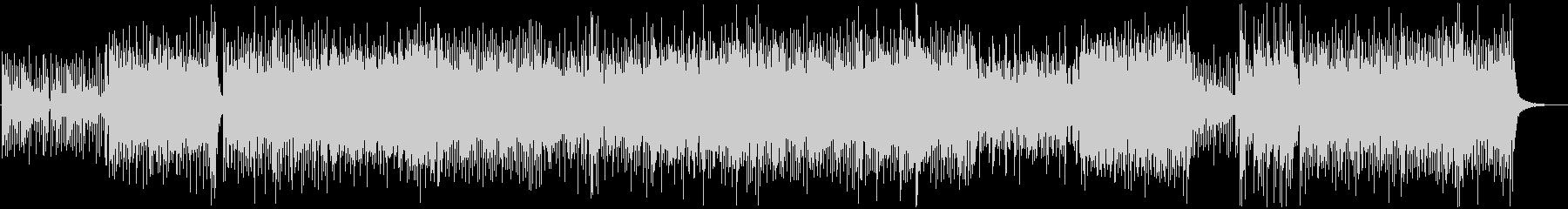 和風、三味線メタル2、激しい(声入り)Aの未再生の波形