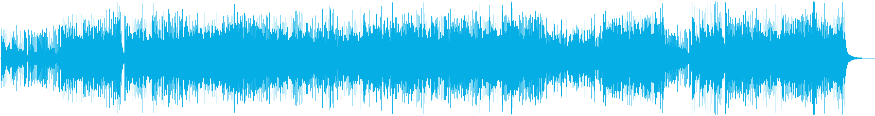 和風、三味線メタル2、激しい(声入り)Aの再生済みの波形