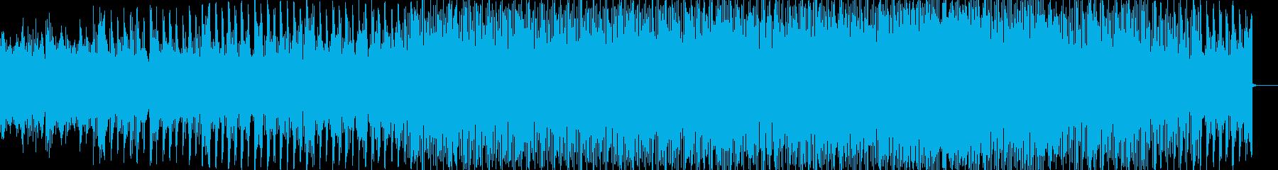 自動車の紹介などで使えるBGMの再生済みの波形
