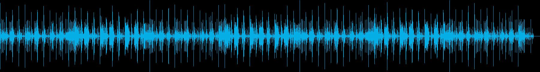日常•のんき•ほのぼの系bgmの再生済みの波形