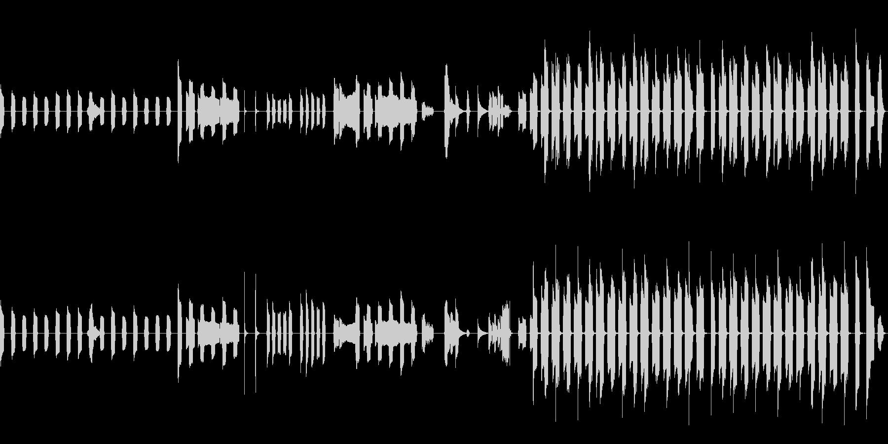 ピタゴラスイッチっぽいリコーダーのBGMの未再生の波形