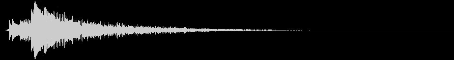 サスペンス 演出 1の未再生の波形