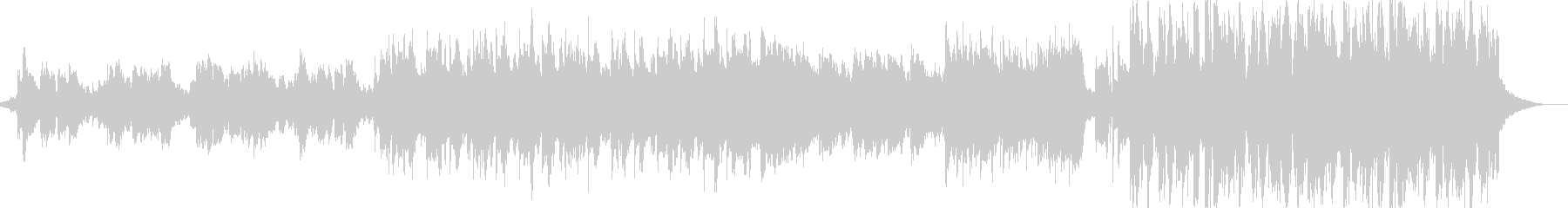 Fashionable and sad Western-style pop dance song's unreproduced waveform