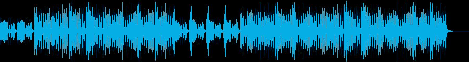おしゃれ・ロカビリー・EDM・空気感の再生済みの波形