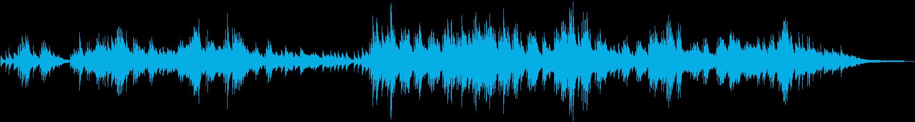 切ないメロディー しっとりしたピアノソロの再生済みの波形