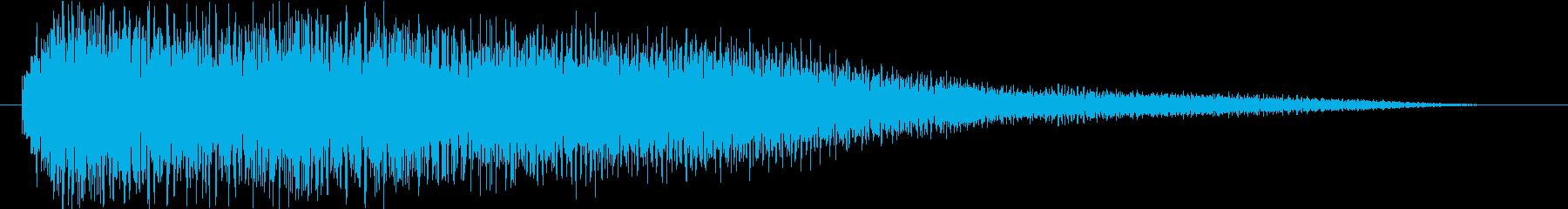 Excellent sound logo, floating and transparent feeling's reproduced waveform