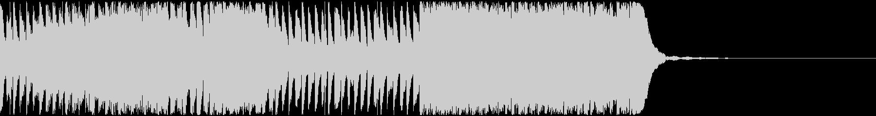 【EDM】30秒、ジングル1の未再生の波形