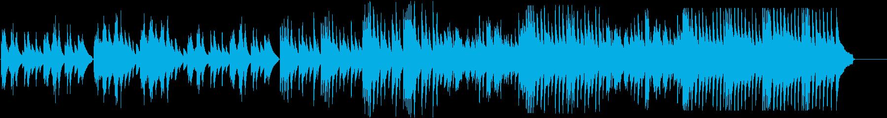 樹海や愛憎を感じさせるピアノソロの再生済みの波形