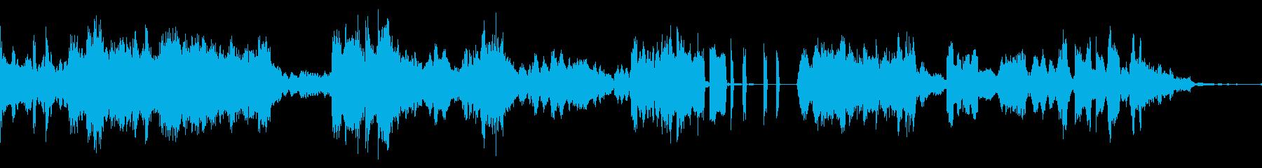 歪んだ迷路に突入な音楽の再生済みの波形