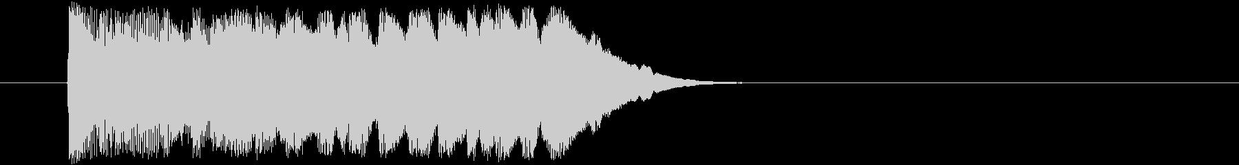 魔法インパクト(コミカル系)の未再生の波形