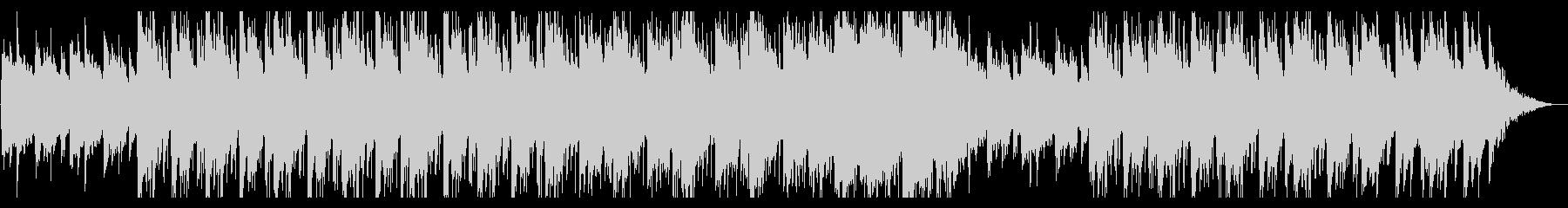 浮遊感のあるやさしい響きのポストロックの未再生の波形