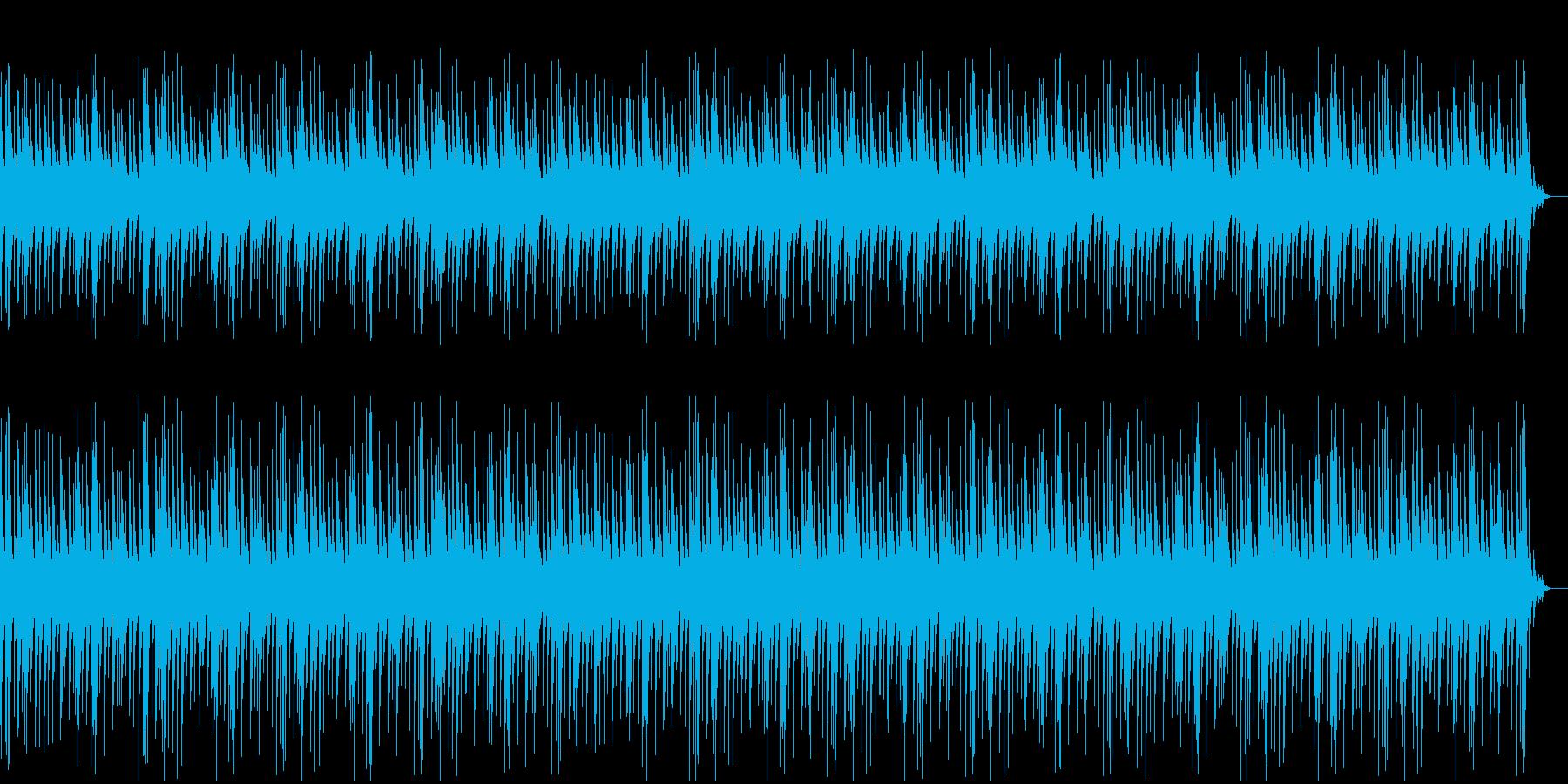 やさしくて心地よくなるオルゴールの再生済みの波形