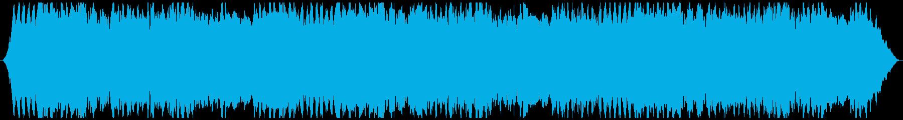 癒やされるヒーリングミュージック1の再生済みの波形