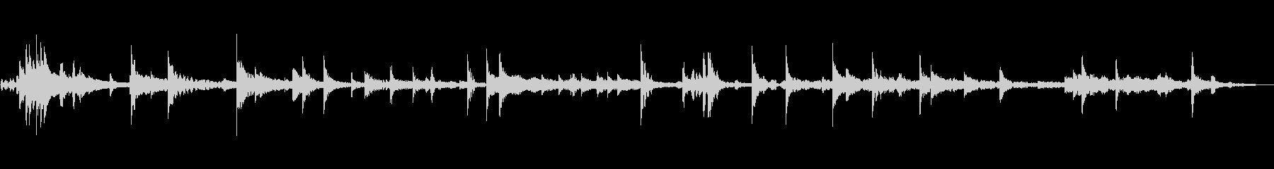 ランダムノートベルの未再生の波形