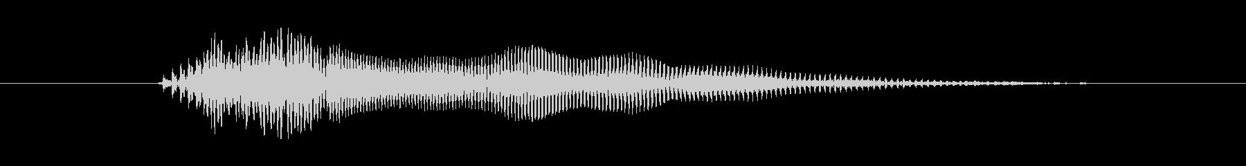 鳴き声 女ファイトモーンペイン05の未再生の波形