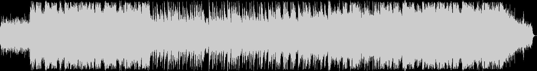 切ないシンセサイザー系サウンドの未再生の波形