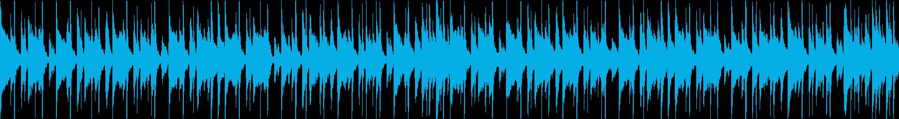 ウクレレ、グロッケンシュピール、ア...の再生済みの波形