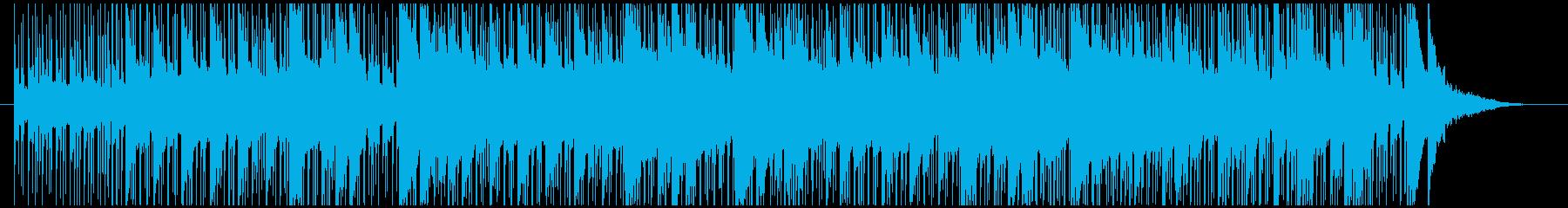 ドキュメンタリーに合うピアノアンビエントの再生済みの波形